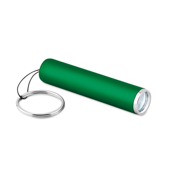 Фонарик пластиковый с подсветко, зеленый-зеленый