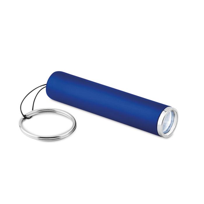 Фонарик пластиковый с подсветко, королевский синий