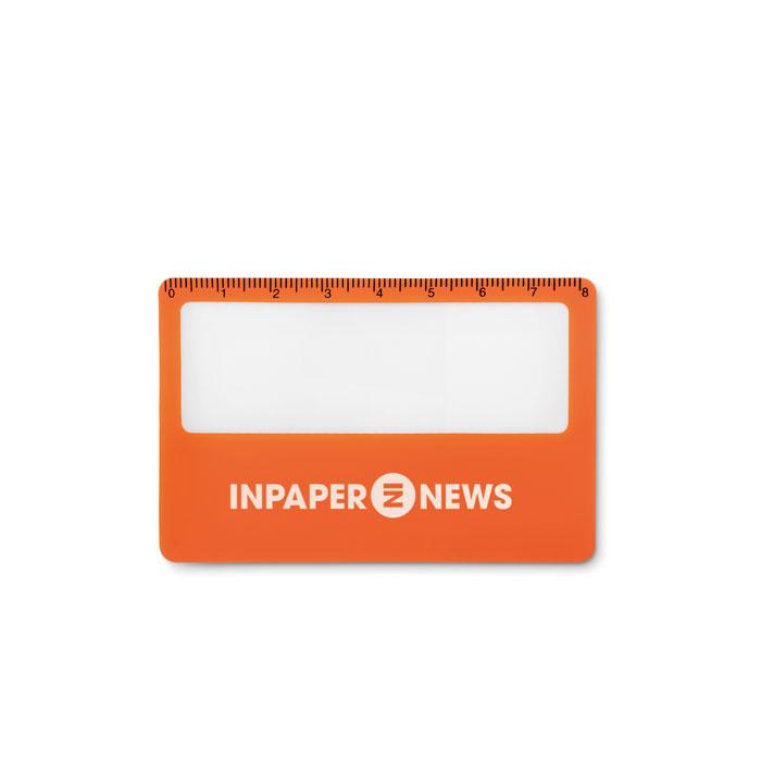 Чехол для кредитной карты, оранжевый