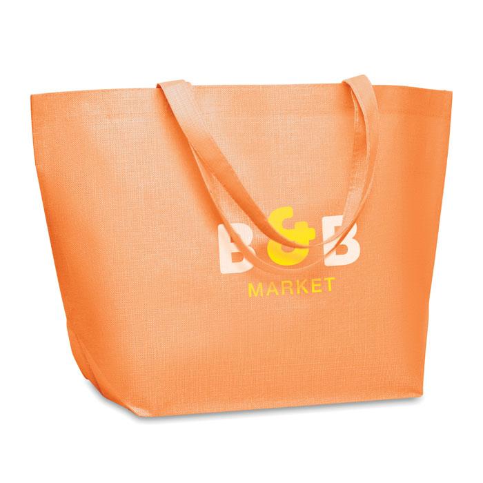 Сумка тканая, оранжевый