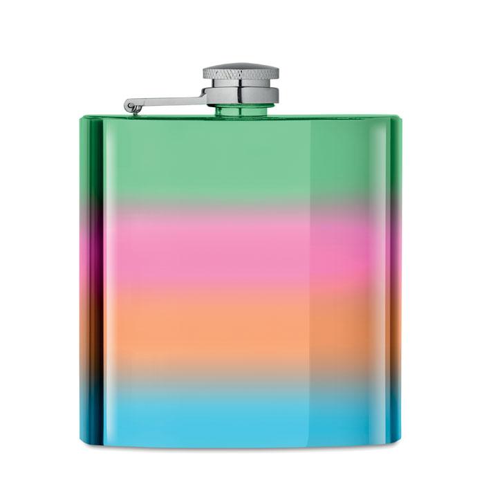 Фляга тонкая, многоцветный