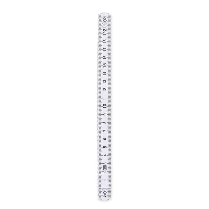 Складная линейка 2 м, белый