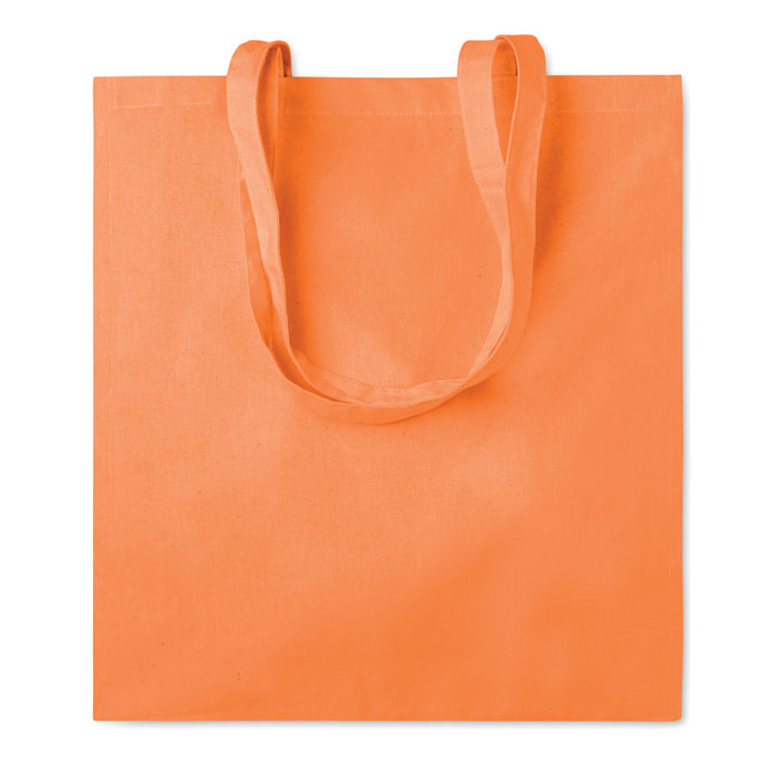 Сумка хлопковая, оранжевый
