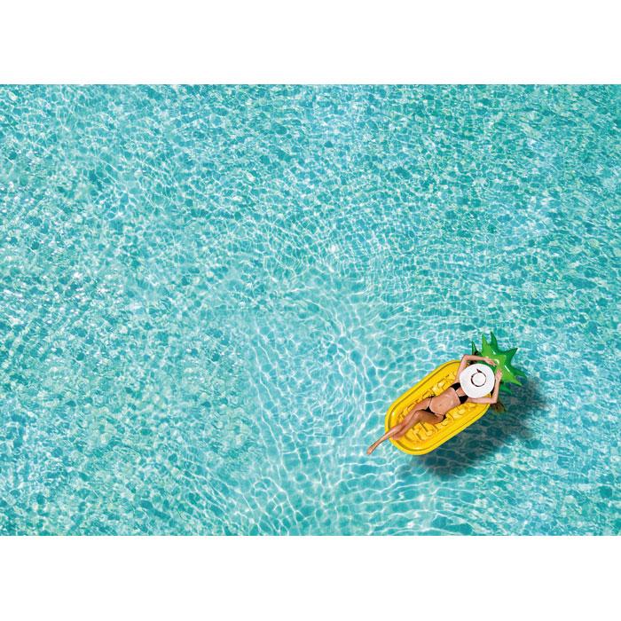 Надувной матрас ананас