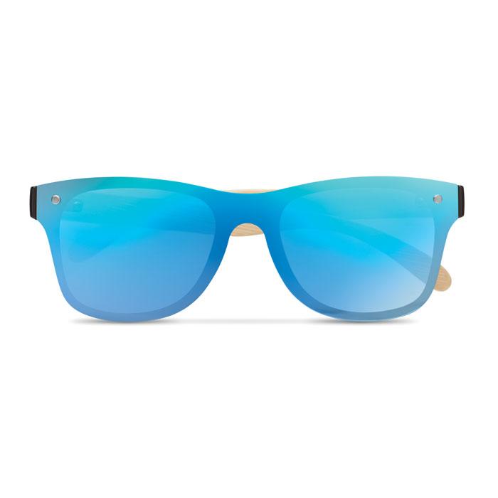 Солнцезащитные очки сплошные, синий