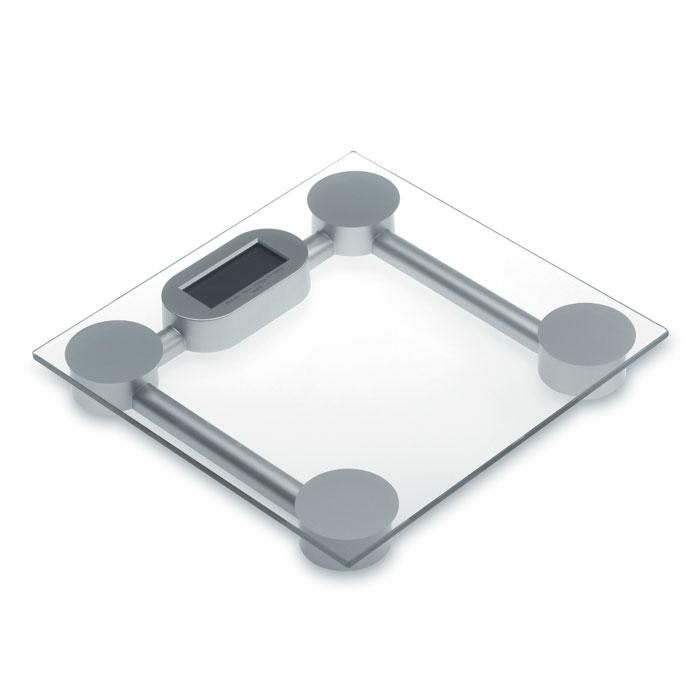 Весы напольные, тускло-серебряный