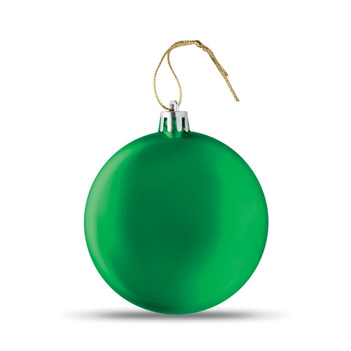 Плоская елочная игрушка, зеленый-зеленый