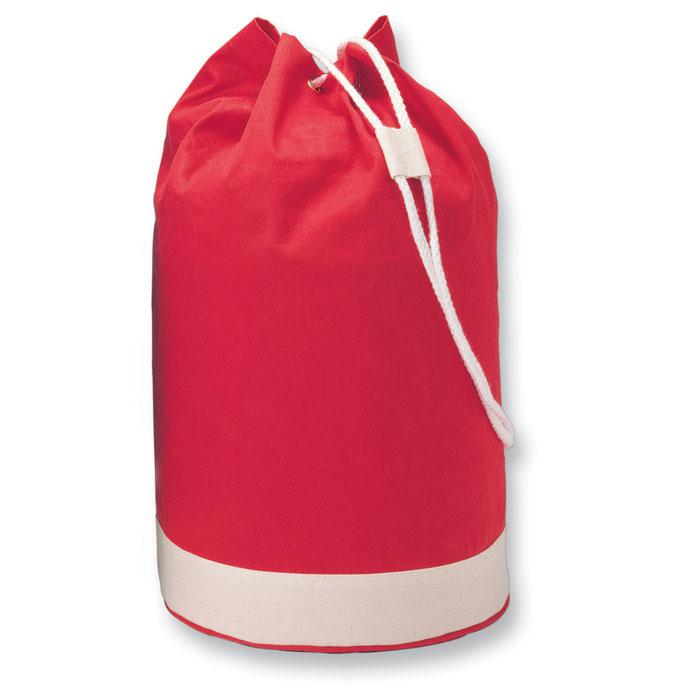 Мешок вещевой, красный