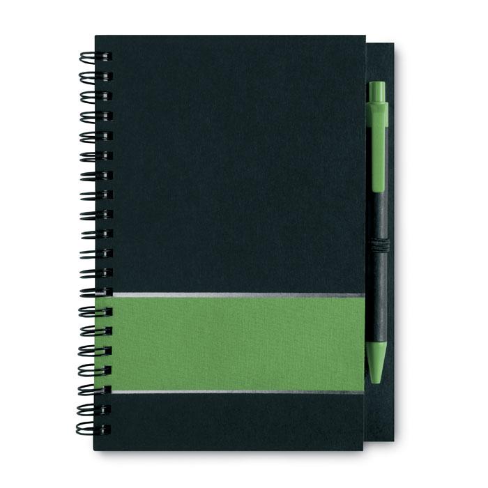 Блокнот, зеленый-зеленый