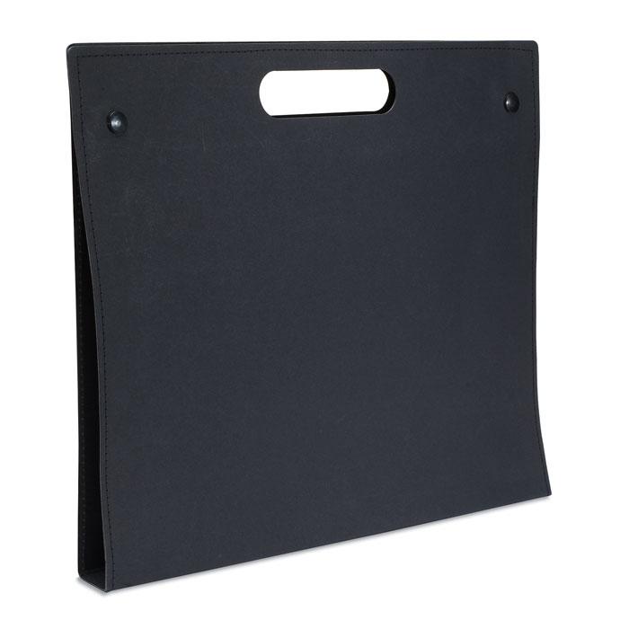 Папка из картона, черный