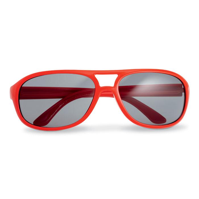 Очки солнцезащитные, красный