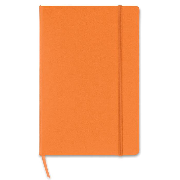 Блокнот, оранжевый