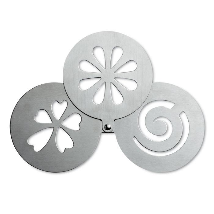 Трафареты для украшения, тускло-серебряный