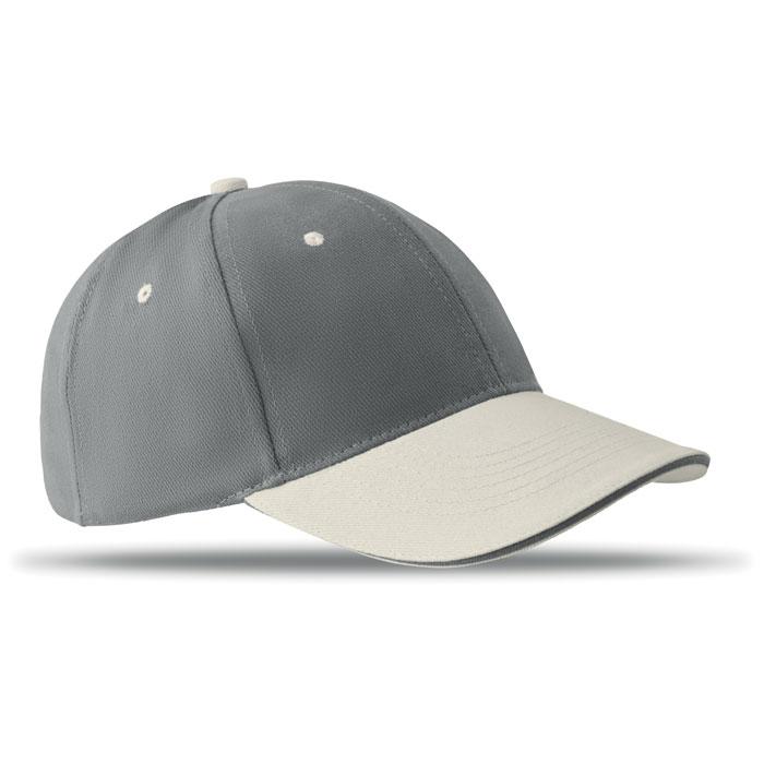 Бейсболка, серый