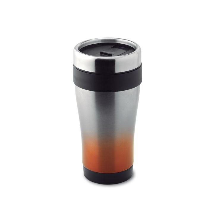 Термокружка, оранжевый