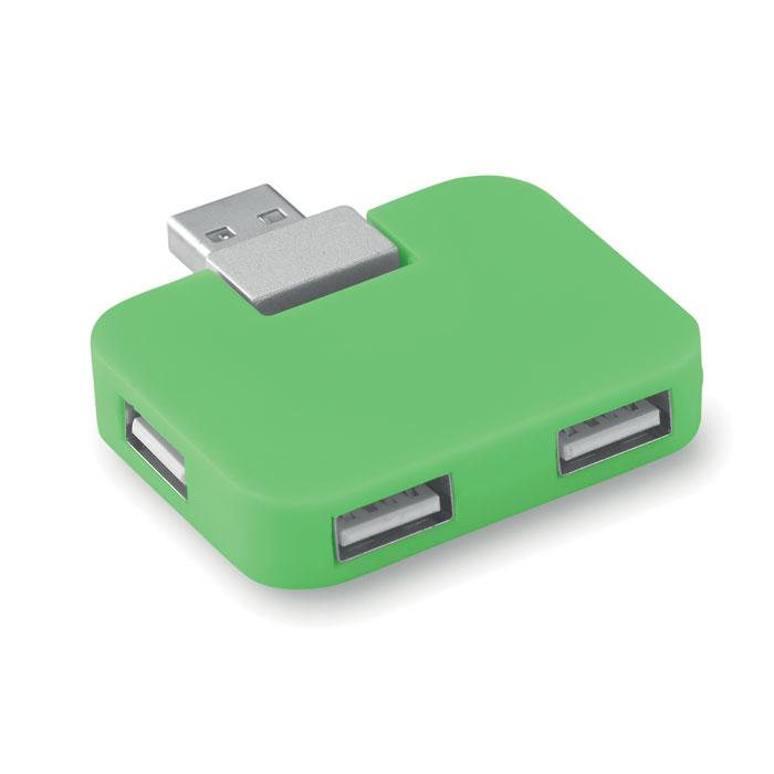 USB разветвитель, лайм