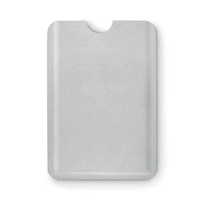 Чехол для кредитной карты, тускло-серебряный
