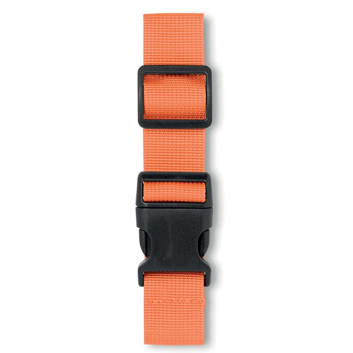 Ремень багажный, оранжевый