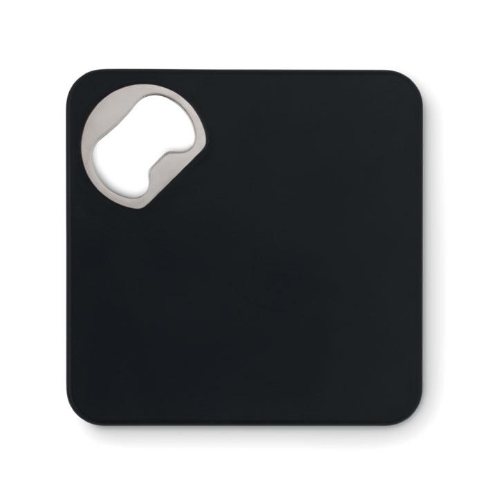 Открывалка и подставка, черный