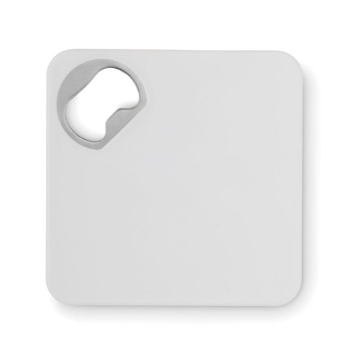 Открывалка и подставка, белый