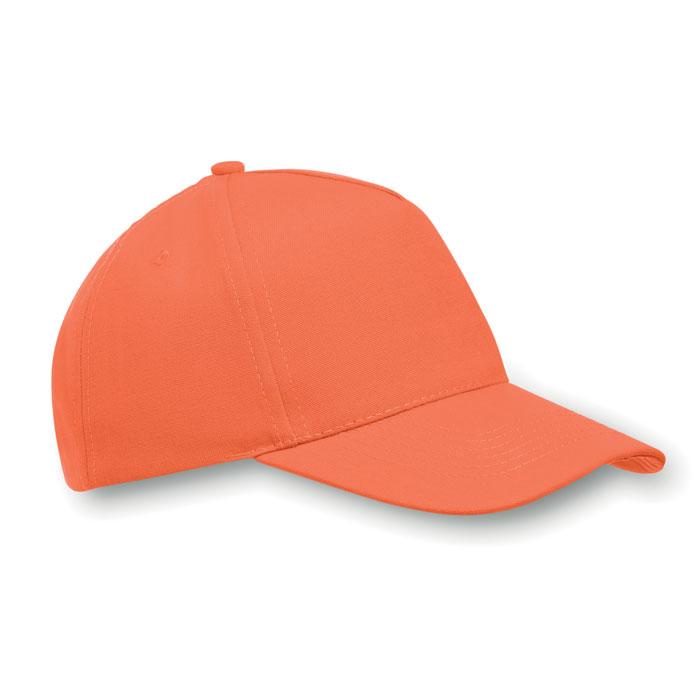 Бейсболка, оранжевый