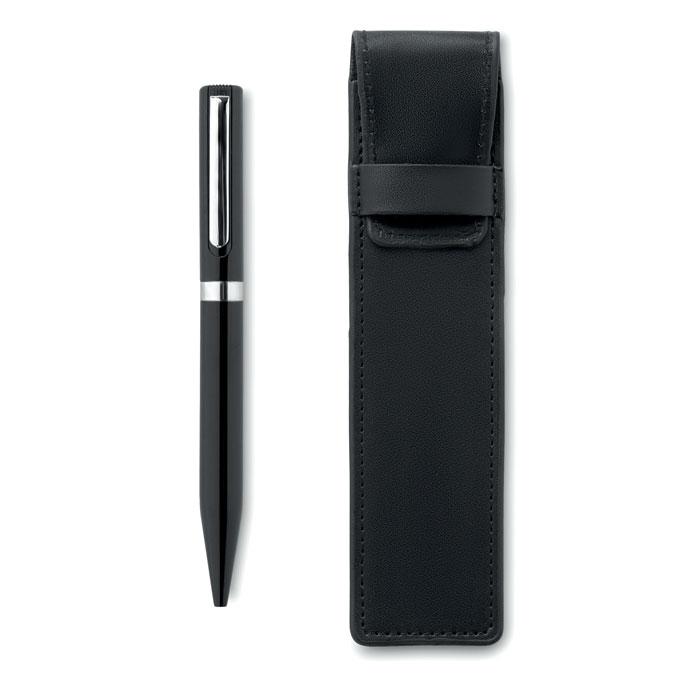 Ручка в чехле, черный