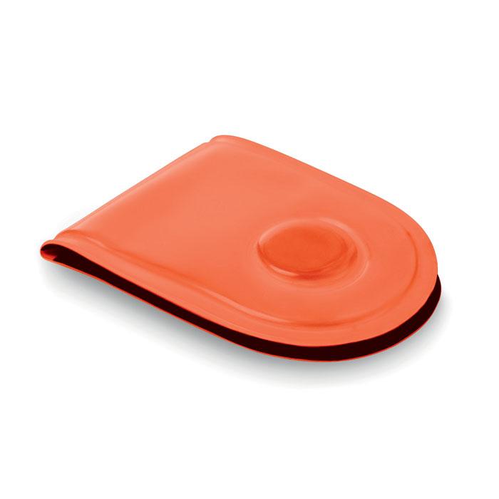 Светодиод безопасности с магнит, неоновый оранжевый цвет