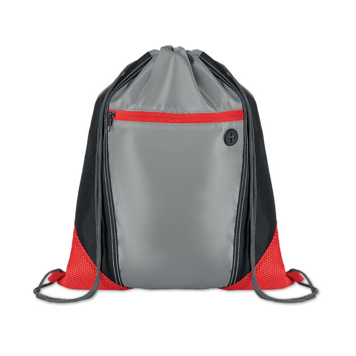 Сумка-мешок, красный