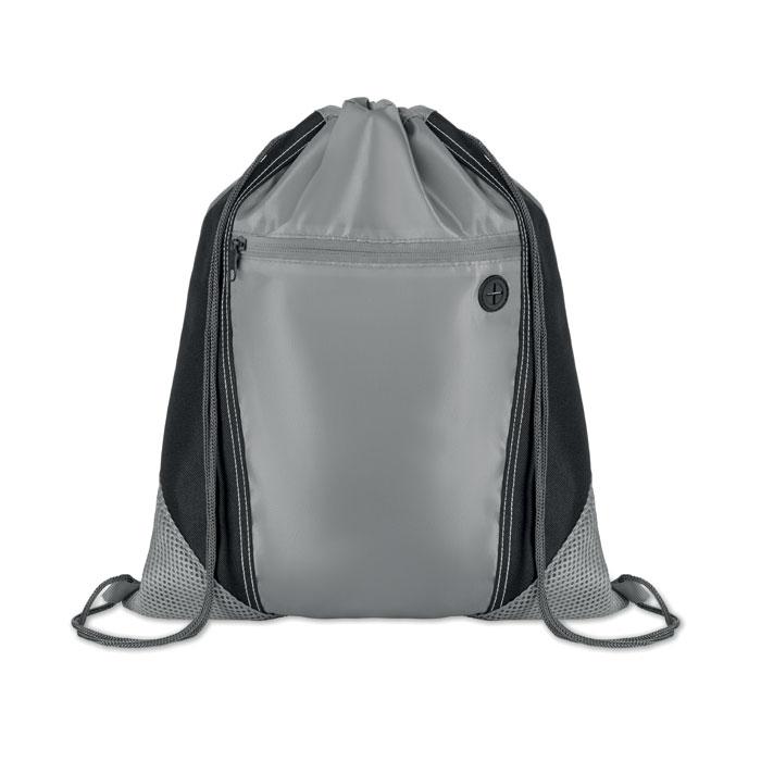 Сумка-мешок, серый