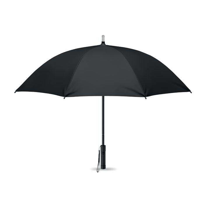 Зонт с подсветкой, черный