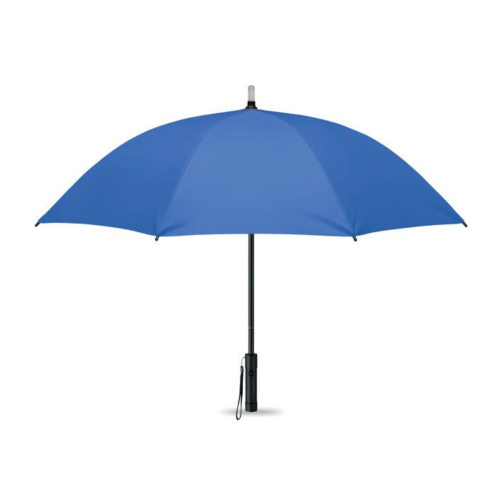 Зонт с подсветкой, королевский синий