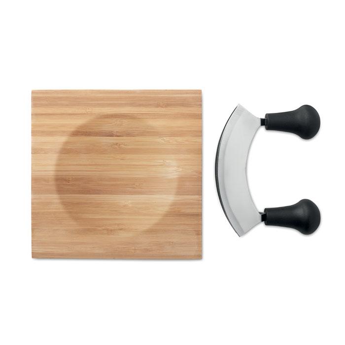 Набор для сыра из бамбука, древесный