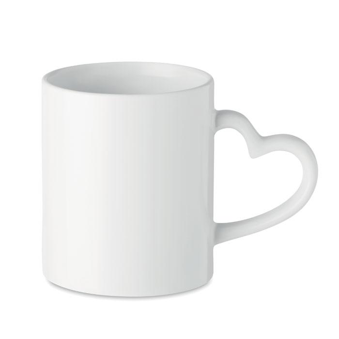 Кружка керамическая под сублима, белый