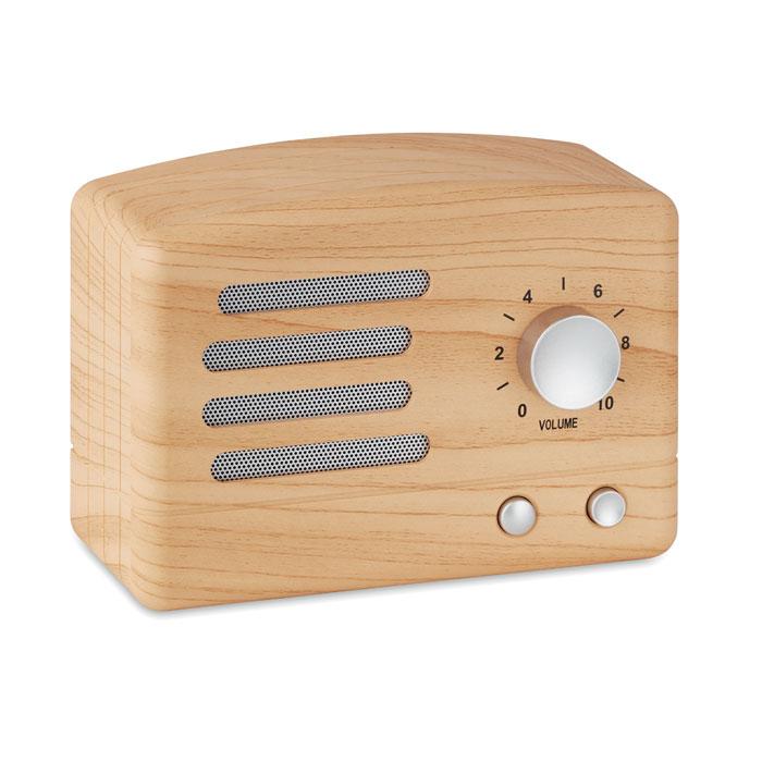 Колонка Bluetooth в деревянном, древесный