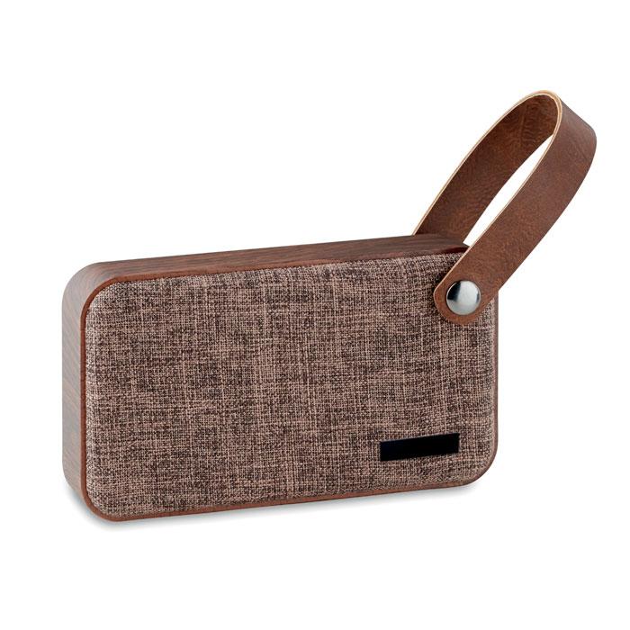 Колонка Bluetooth, коричневый