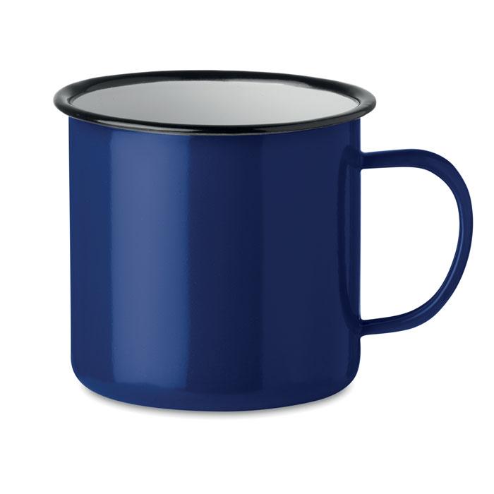 Кружка металлическая винтаж 350, синий
