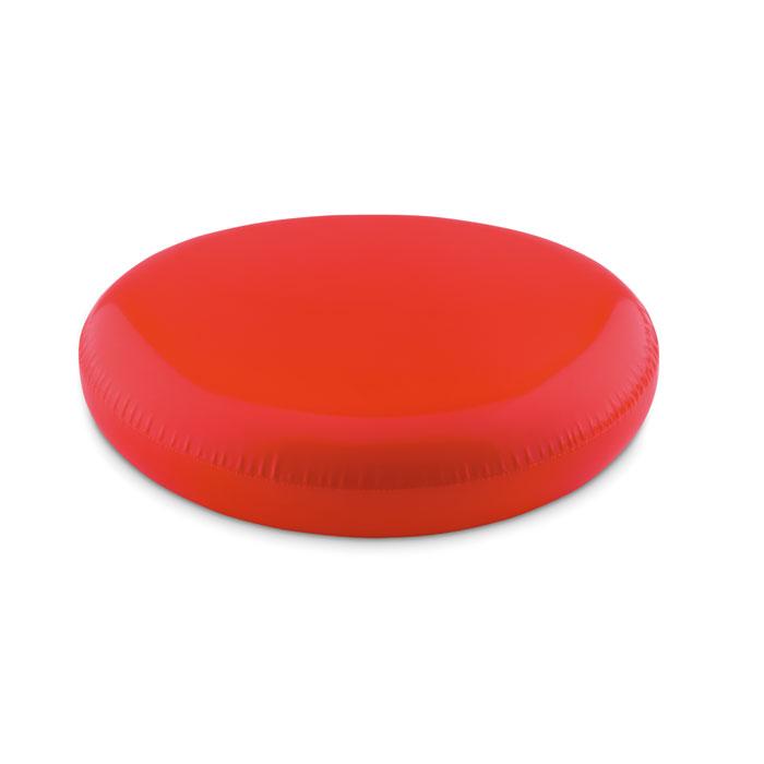 Летающая тарелка фрисби надувна, красный