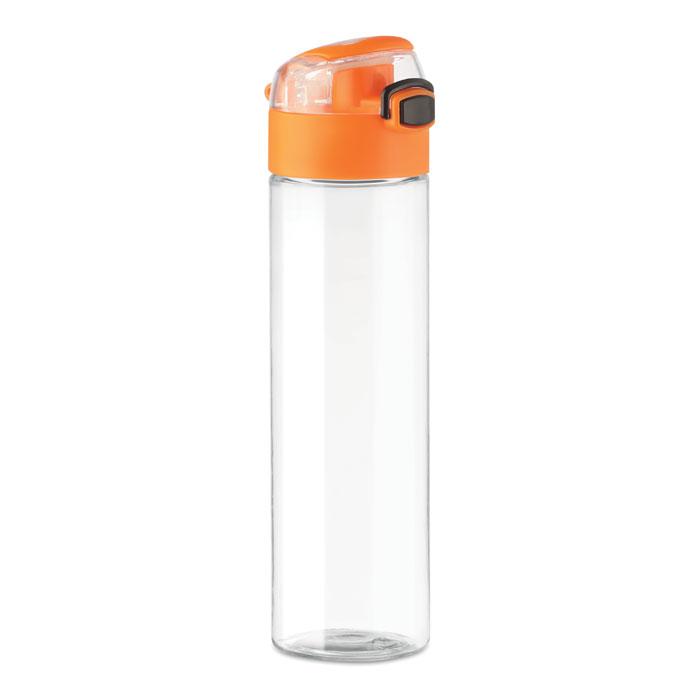Бутылка на 600 мл с замочком, оранжевый